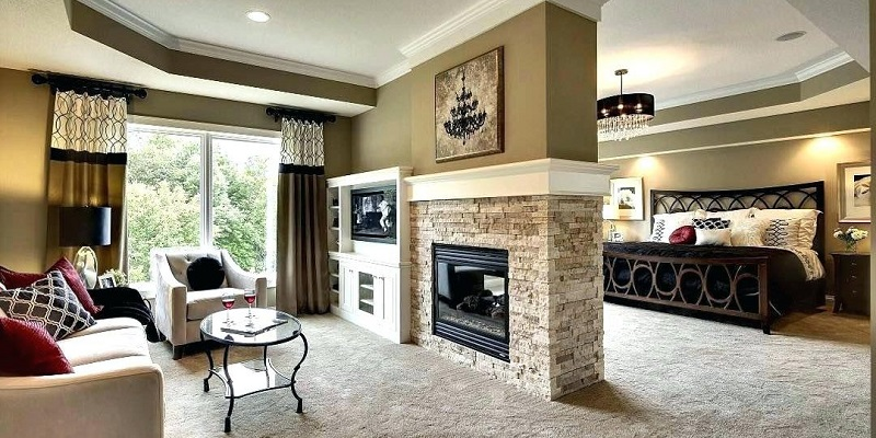 Image That Shows The Enchanting Master Bedroom Fireplace Best Ideas