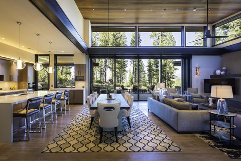 Image That Shows the Gorgeous Open Floor Ideas For A Home Improvement.