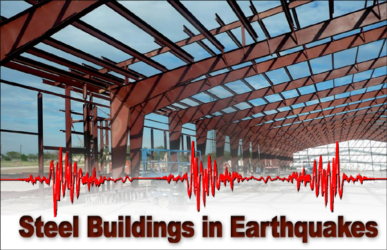 Image Showing Building Structures Made of Steel With a Solid Strength During Earthquake